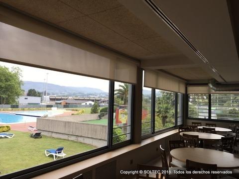 Soltecsl - Cafetería Grupo Covadonga - Soltec-Sistemas de proteccion solar